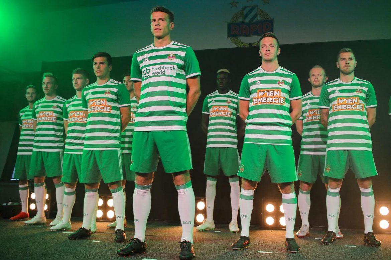 Camisas do SK Rapid Viena 2019-2020 Adidas