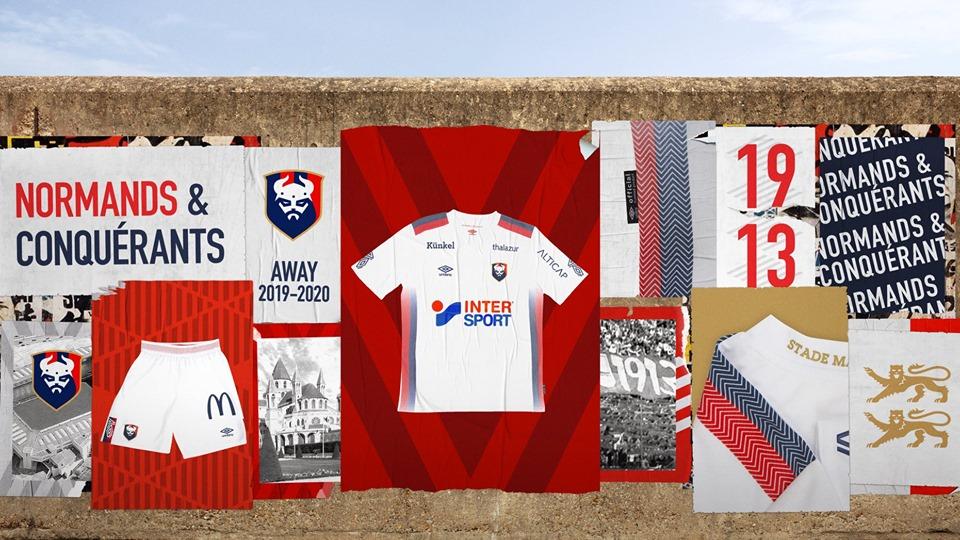 Camisas do SM Caen 2019-2020 Umbro