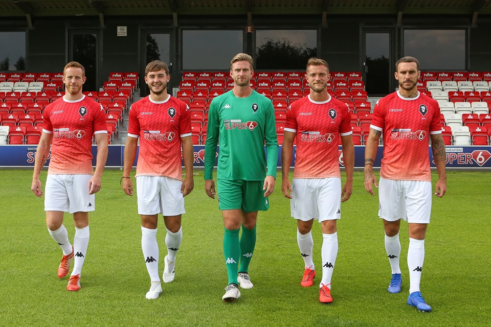 Camisas do Salford City 2019-2020 Kappa
