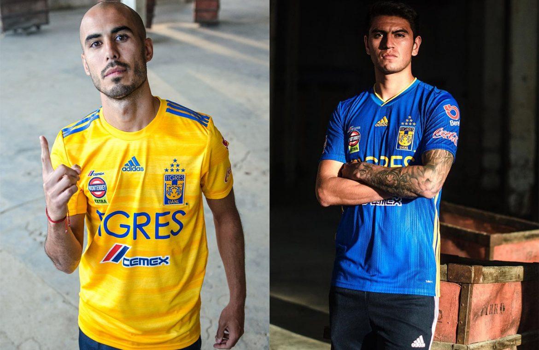 Camisas do Tigres UANL 2019-2020 Adidas