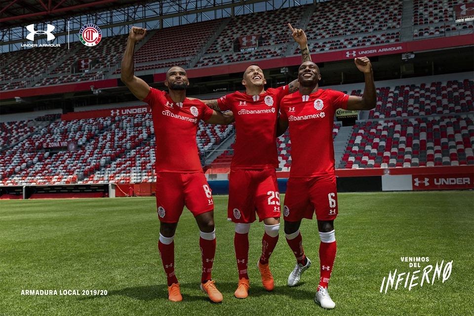 Camisas do Toluca 2019-2020 Under Armour