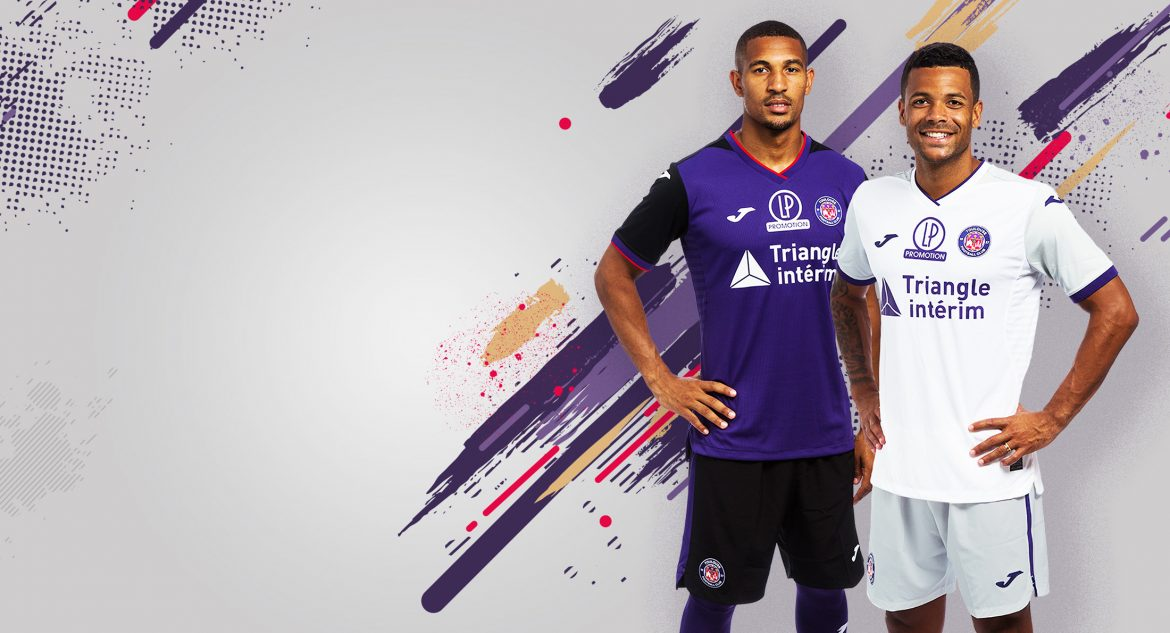 Camisas do Toulouse FC 2019-2020 Joma