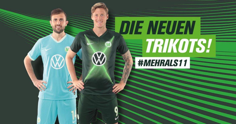 Camisas do Wolfsburg 2019-2020 Nike