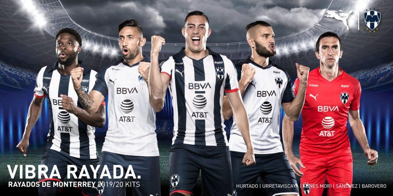 Camisas dos Rayados de Monterrey 2019-2020 PUMA