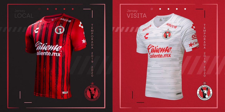 Camisas dos Xolos de Tijuana 2019-2020 Charly Futbol