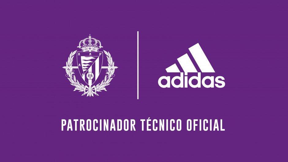 Real Valladolid anuncia parceria com a Adidas
