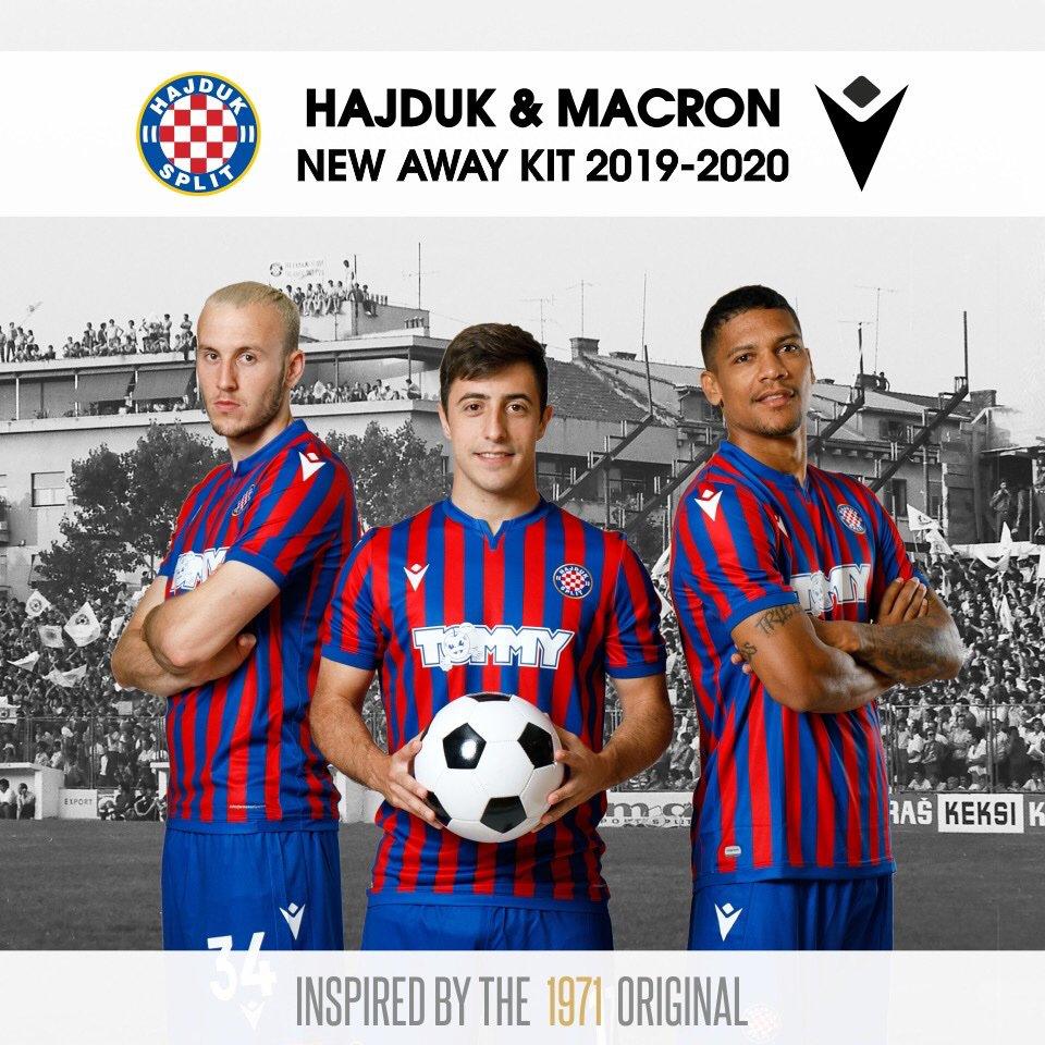 Camisas do Hajduk Split 2019