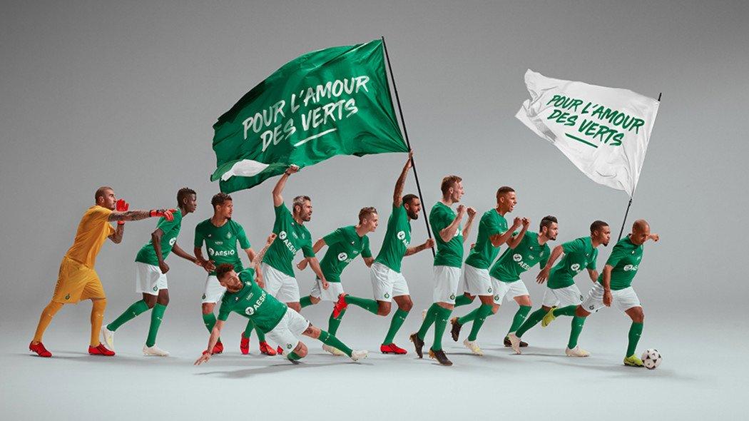 Camisas do Saint-Étienne 2019