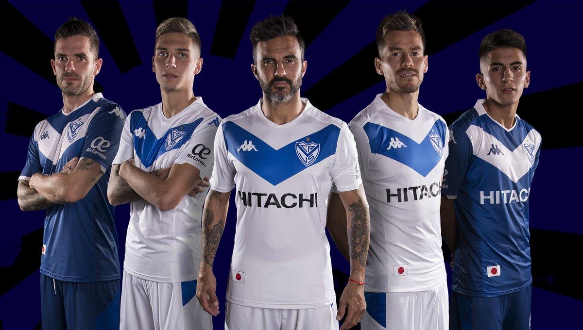 Camisas do Vélez Sarsfield 2019
