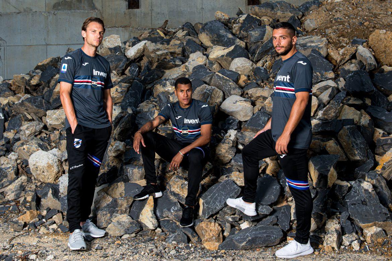 camisas da Sampdoria 2019