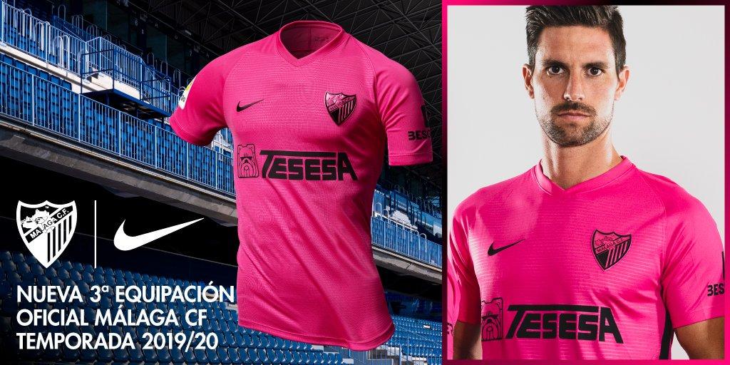 Camisas do Málaga 2019