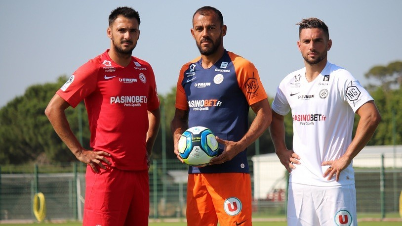 Camisas do Montpellier HSC 2019-2020 Nike