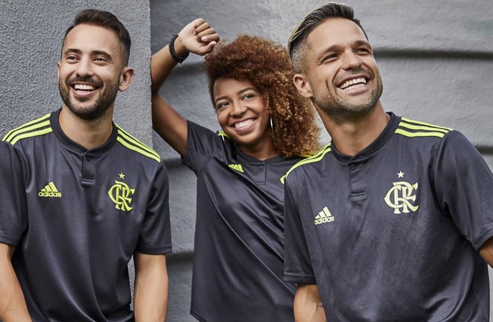 Terceira camisa do Flamengo 2019-2020 Adidas abre
