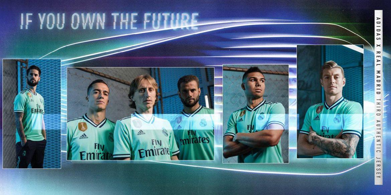 Terceira camisa do Real Madrid 2019-2020 Adidas abre