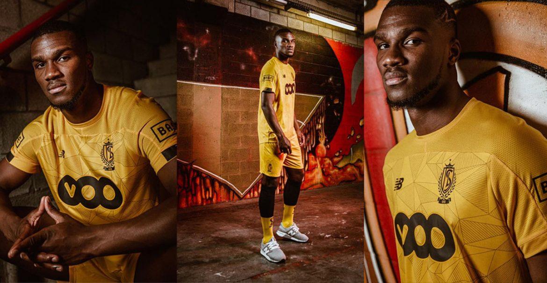 Terceira camisa do Standard Liège 2019-2020 New Balance abre