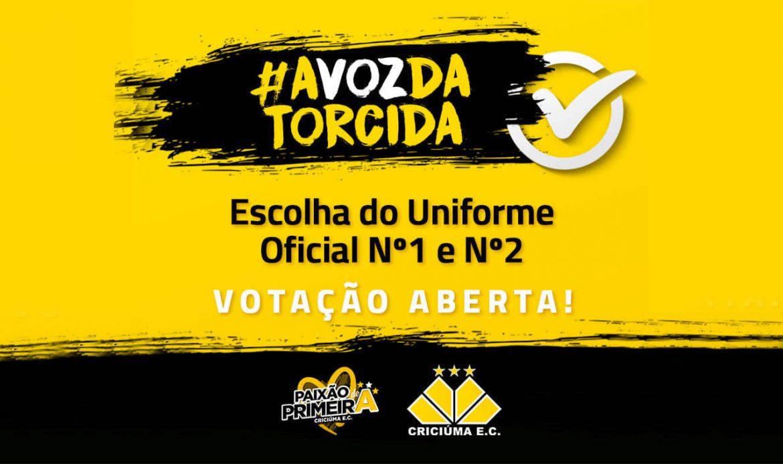Torcedor escolherá nova camisa do Criciúma 2019-2020