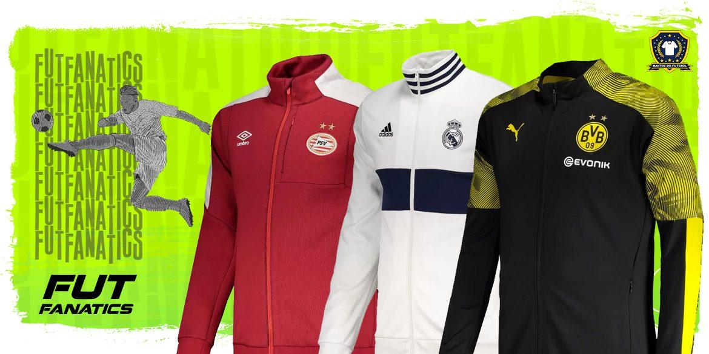 Jaquetas de times europeus para o frio