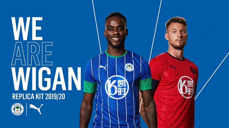 Camisas do Wigan Athletic 2019