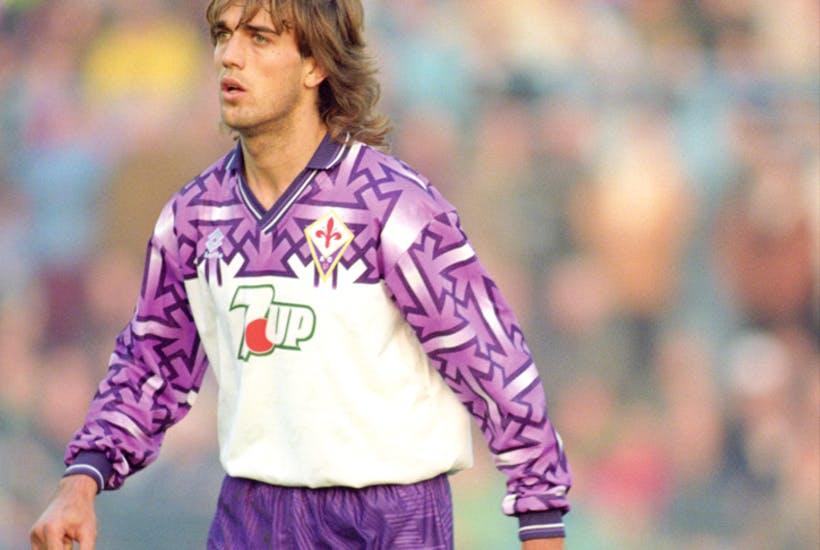 A polêmica camisa reserva da Fiorentina de 1992-1993