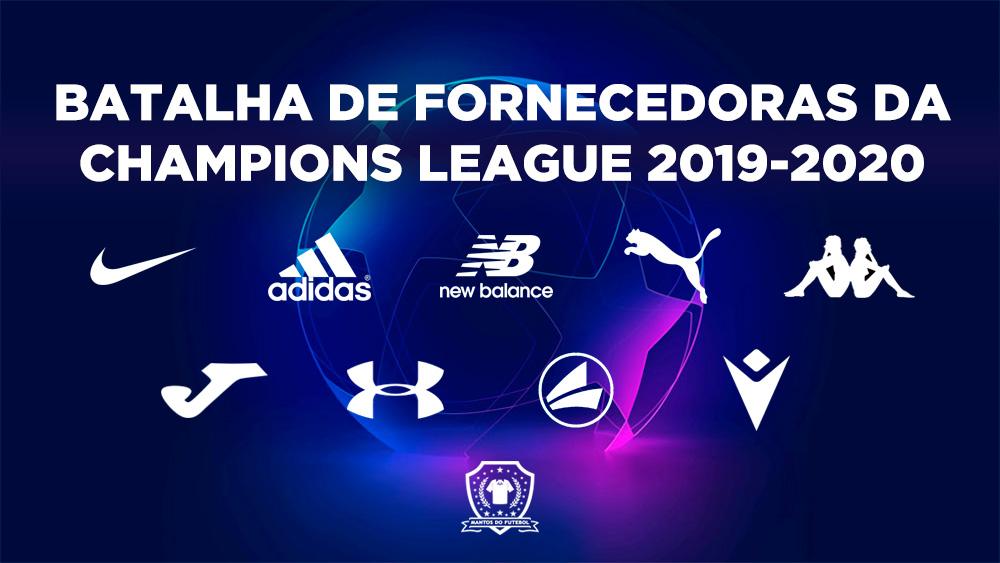 Batalha de fornecedoras da Champions League 2019-2020