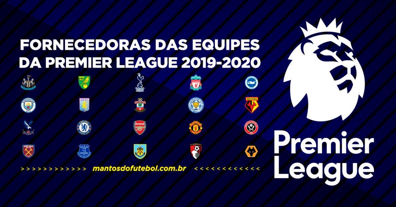 Uniformes e camisas da Premier League 2019-2020 (Campeonato Inglês)