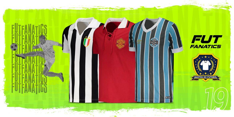 Camisas de futebol retrô na FutFanatics + Cupom de desconto MDF