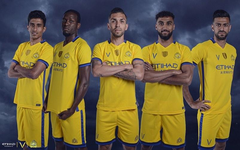 Camisas do Al Nassr 2019-2020 Victory