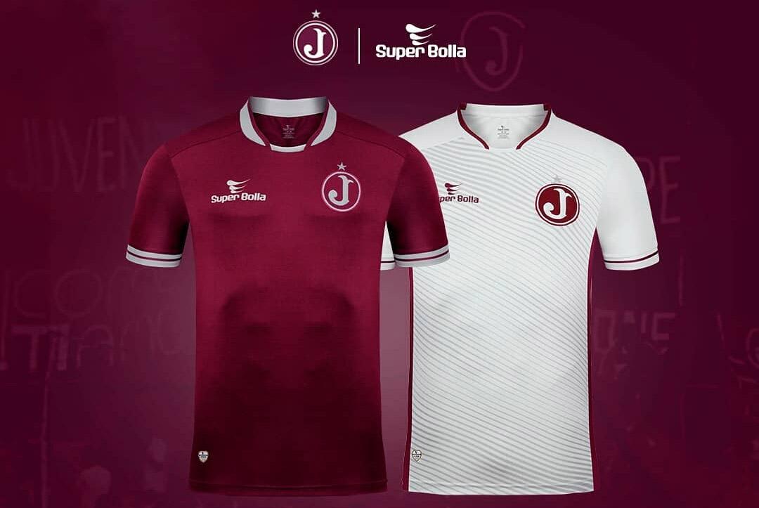 Camisas do Juventus da Mooca 2019-2020 Super Bolla abre