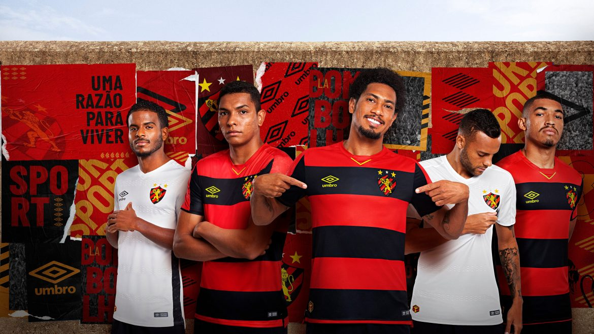 Camisas do Sport Recife 2019-2020 Umbro abre