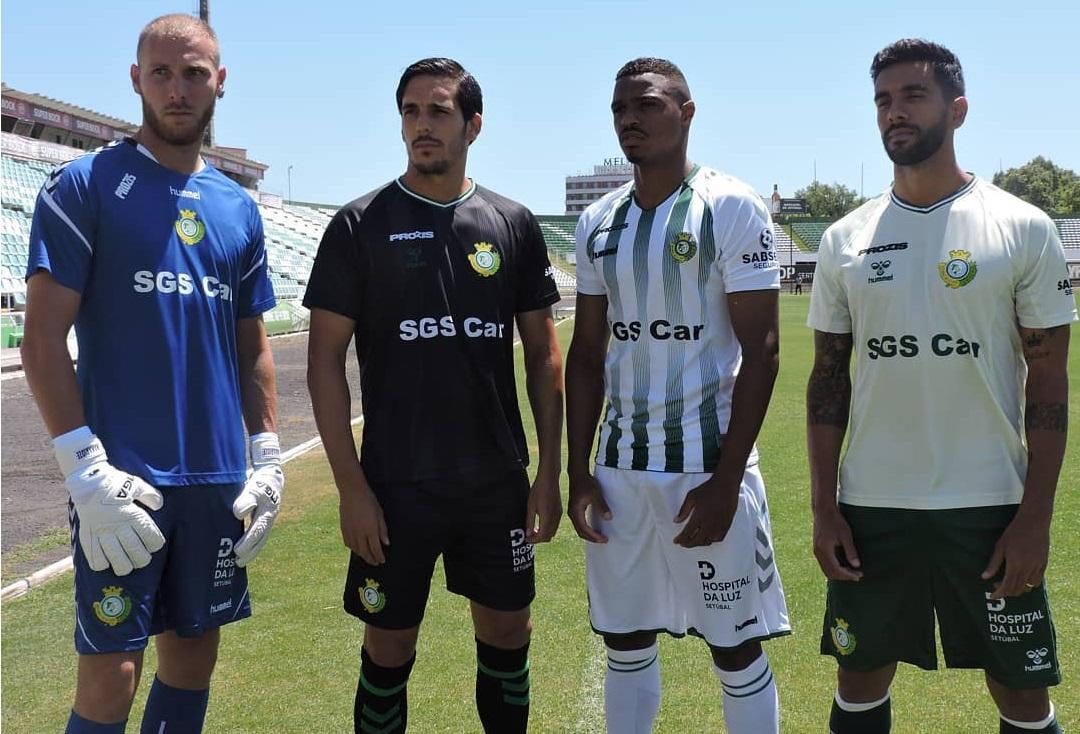 Camisas do Vitória de Setúbal 2019-2020 Hummel