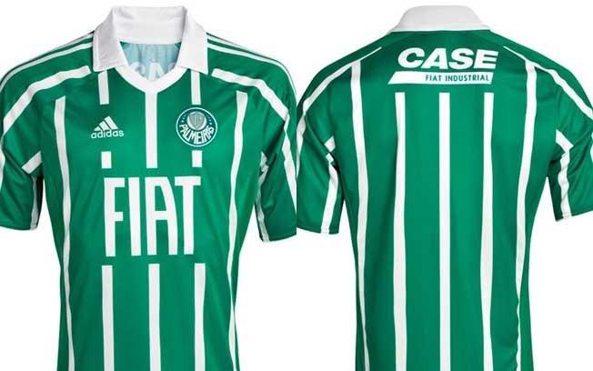 Camisas listradas do Palmeiras nos anos 90