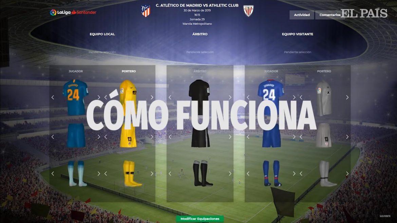 Conheça o sistema de decisão de uniformes da La Liga