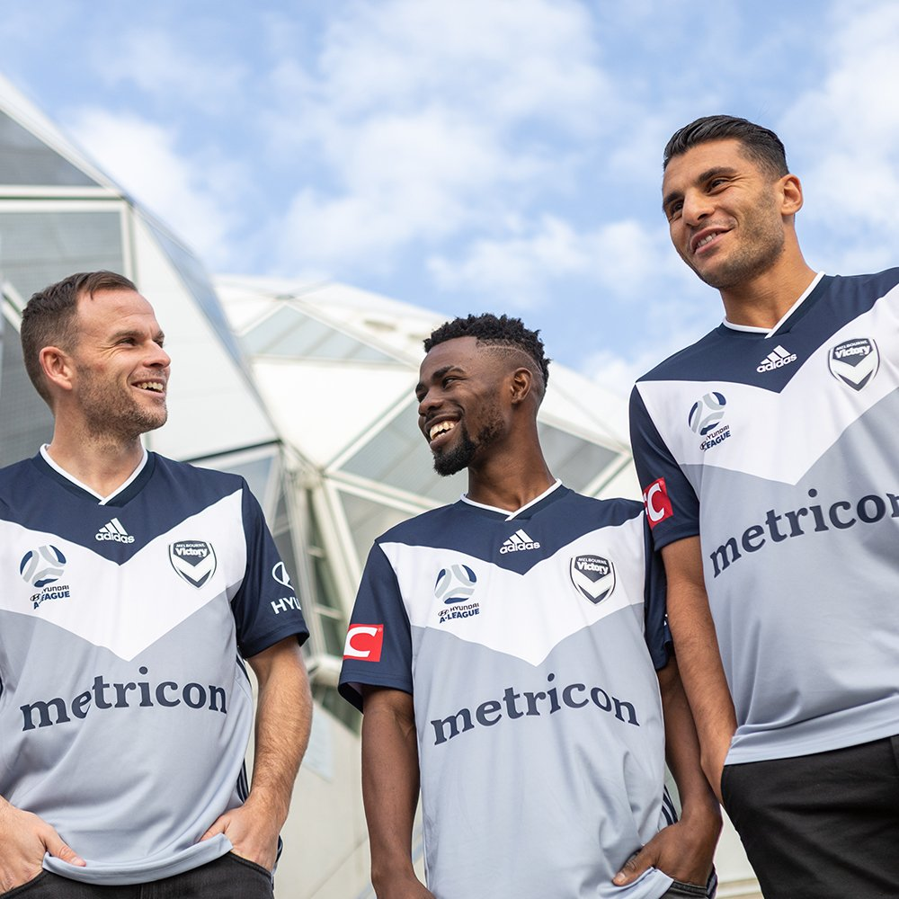 Camisas do Melbourne Victory 2019