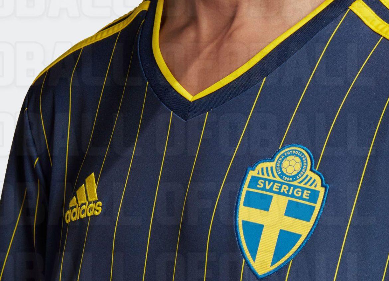 Camisas da Suécia 2020