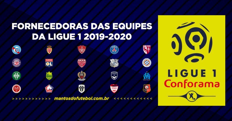 Uniformes e camisas da Ligue 1 2019-2020 (Campeonato Francês)