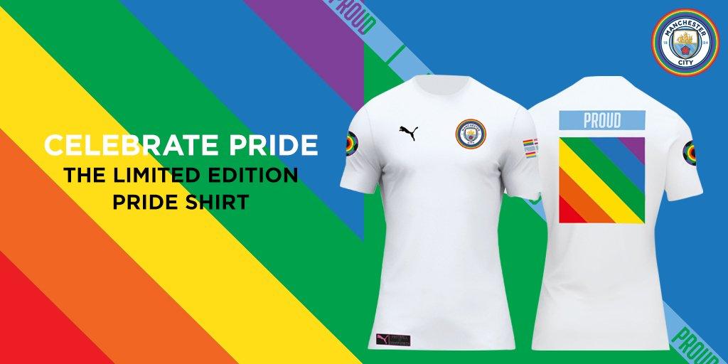 Manchester City camisa LGBT