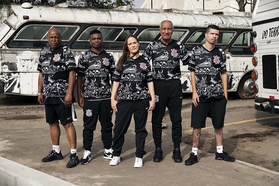 Invasões Alvinegras: Terceira camisa do Corinthians 2019-2020 Nike