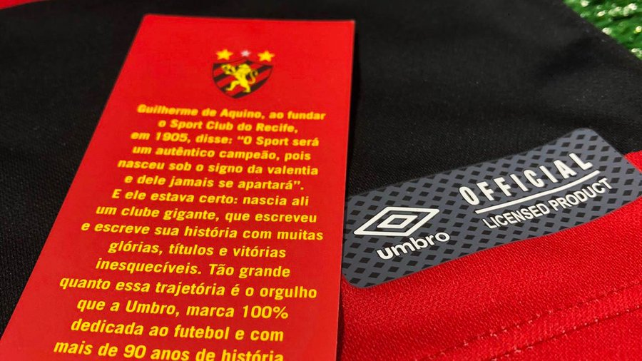 Sport Recife Umbro Brasil