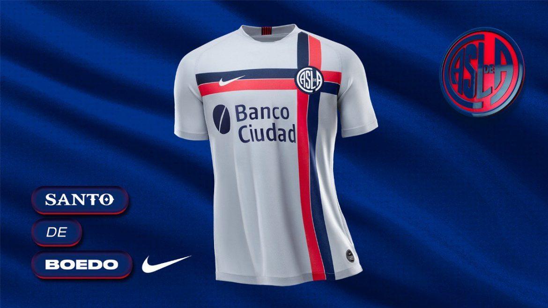 Terceira camisa do San Lorenzo 2019-2020 Nike