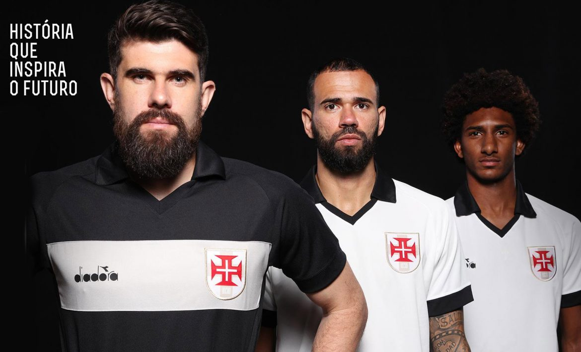 Terceira camisa do Vasco da Gama 2019-2020 Diadora