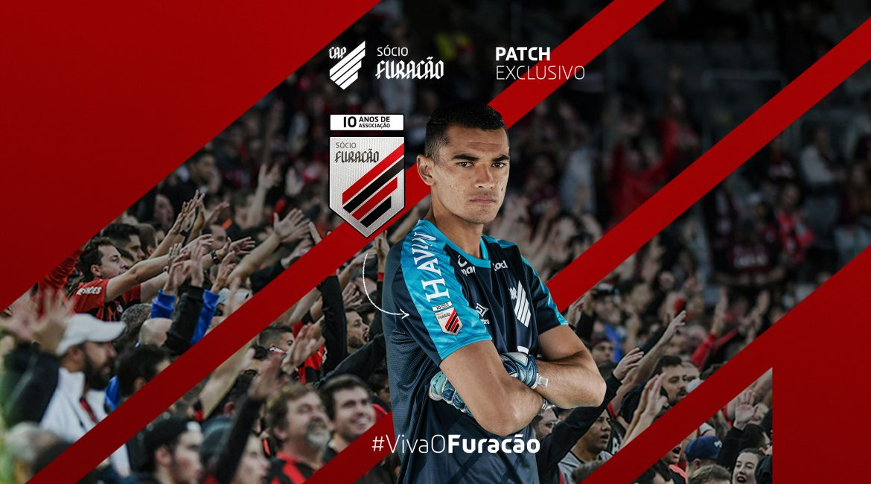 Athletico Paranaense lança patch exclusivo para sócios
