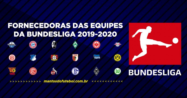 Uniformes e camisas da Bundesliga 2019-2020