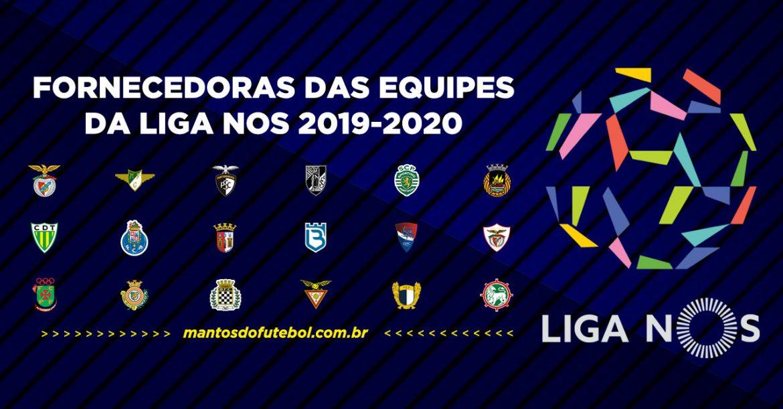 Uniformes e camisas da Liga NOS 2019-2020 (Campeonato Português)