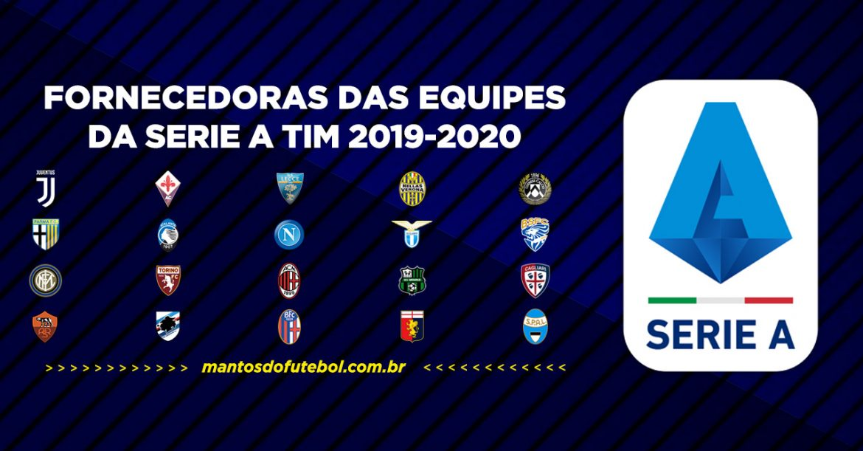Uniformes e camisas da Serie A TIM 2019-2020 (Campeonato Italiano)
