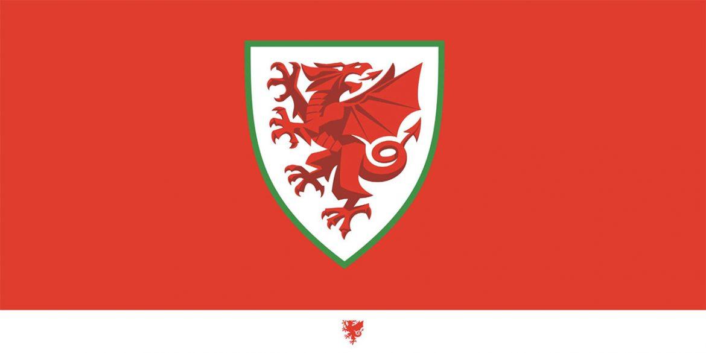novo escudo da seleção do país de gales