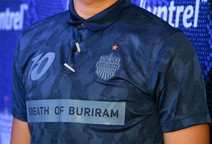 Camisa de 10 anos do Buriram United 2019