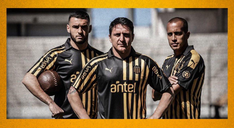 Camisa de 128 anos do Peñarol 2019 PUMA