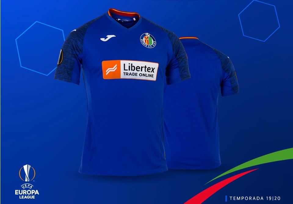 Camisa do Getafe Europa League 2019-2020 JOMA