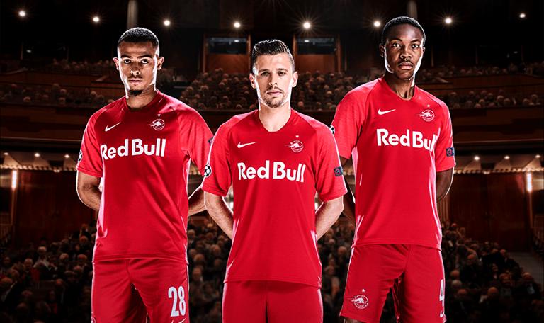 Camisa do Red Bull Salzburg Champions League 2019-2020 Nike