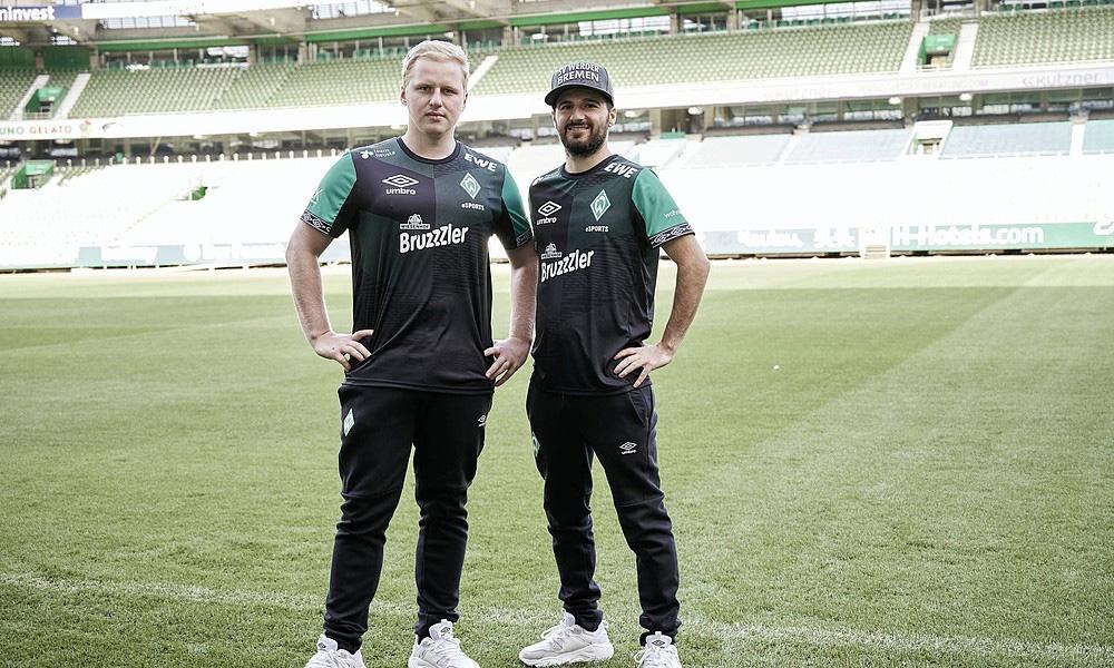 Camisa esports Werder Bremen 2019-2020 Umbro abre